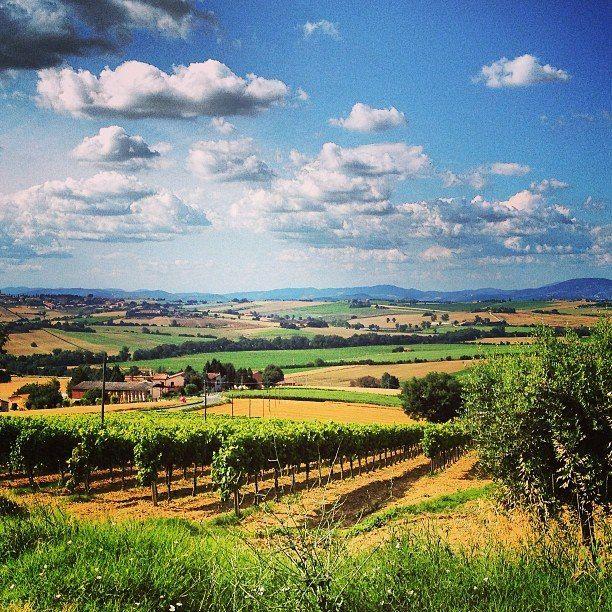 """""""Умбрия! Это имя называет как будто страну легких теней, населяющих долины, роящихся в старинных городах на вершинах холмов, наполняющих воздух в глубокие, безмолвные ночи.""""   Павел Муратов. Образы Италии. Долина Умбрии.  #Умбрия #Италия"""