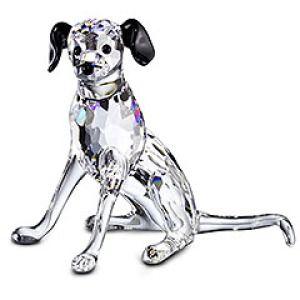 Swarovski Crystal Figurine, Dalmatian Mother