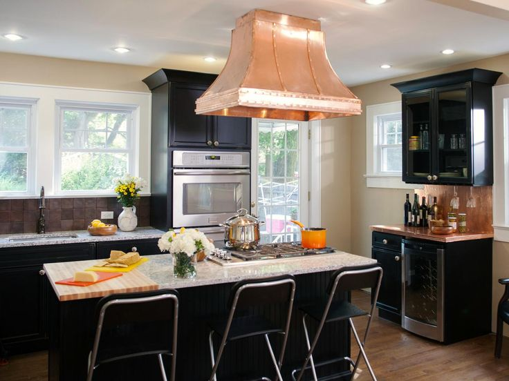 HGTV has inspirational pictures and expert tips on black kitchen cabinet ideas that will help you make a contemporary statement.