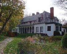 Humorist Stephen Leacock lived here at Old Brewery Bay on Lake Simcoe.