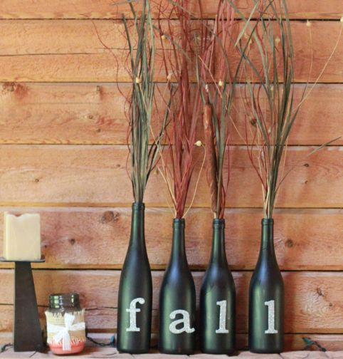 Stop fighting fall's arrival and embrace it! Put away the flip-flops and remember how much you love cozy sweaters and tall boots! And fall decorating!!! This craft is easy and impactful.
