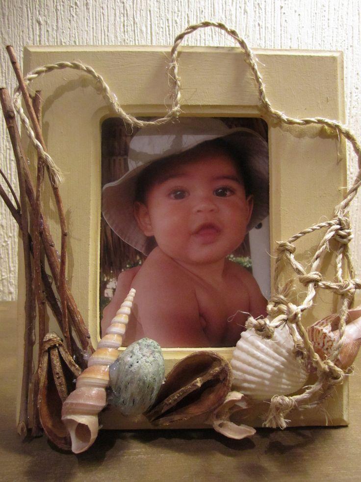48 best decoraciones con conchas images on pinterest - Decoraciones de fotos ...
