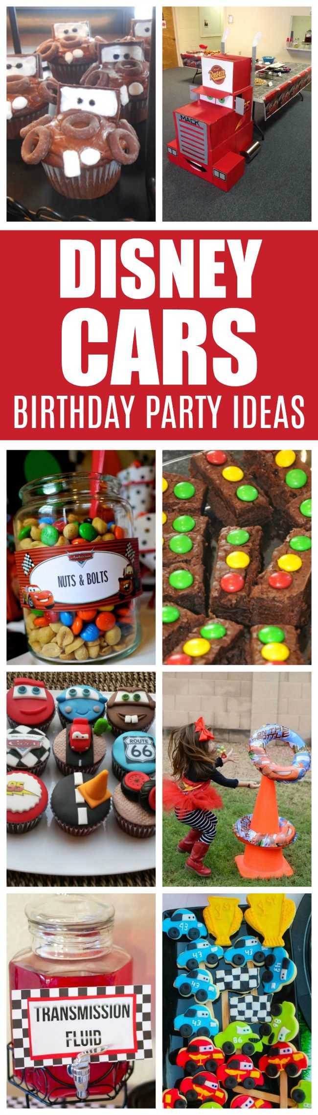 20 Disney Pixars Cars Party Ideas | Pretty My Party Kindergeburtstag feiern Idee…