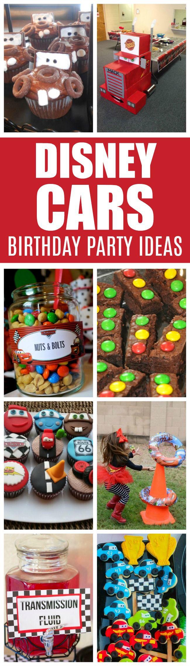 20 Disney Pixars Cars Party Ideas | Pretty My Party