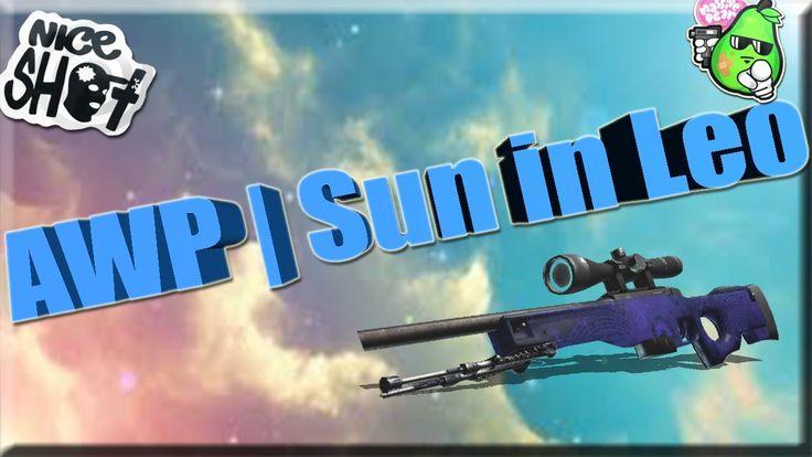 "CS:GO-TOP 5-Sticker Combinations: ""AWP"" | Sun in Leo (Солнце в знаке Льва)"