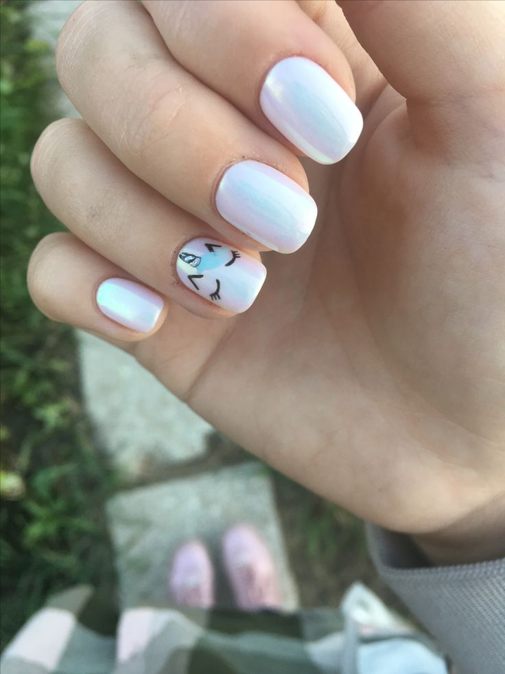 Unicorn Nails.