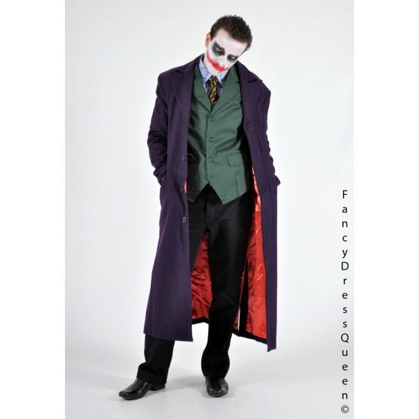 A screen accurate dark knight joker costume as worn by Heath Ledger. Size medium. £224.99