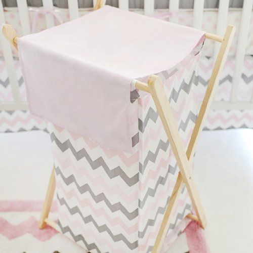 35 best Pink Chevron Baby Bedding images on Pinterest