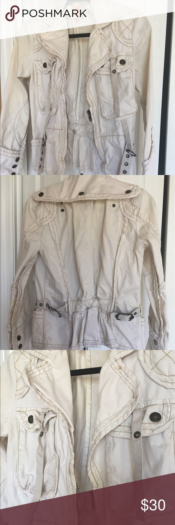 Jacket Safari jacket, worn couple of times Jackets & Coats Utility Jackets