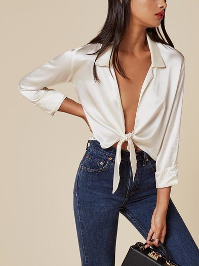 The Basinger Top  https://www.thereformation.com/products/basinger-top-ivory?utm_source=pinterest&utm_medium=organic&utm_campaign=PinterestOwnedPins