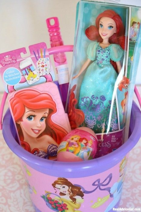 Best 25 baby easter basket ideas on pinterest easter baskets get ready for easter with fun kids easter basket ideas with disney princess products negle Image collections