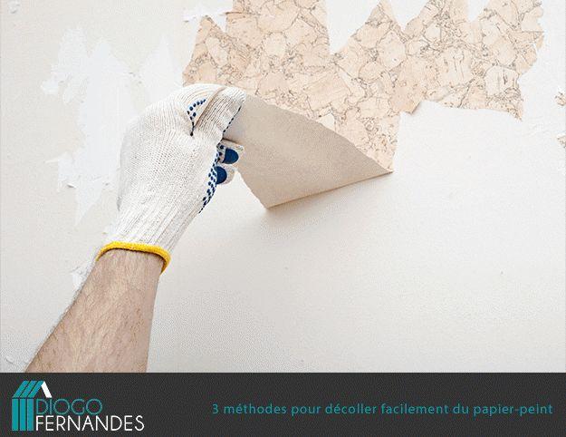 les 25 meilleures idées de la catégorie décoller papier peint sur ... - Comment Decoller Du Vieux Papier Peint