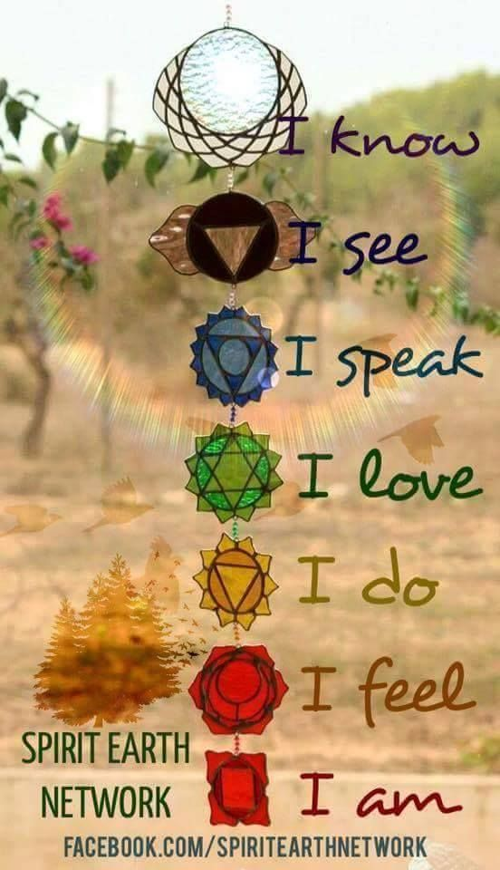 May your chakras be aligned <3