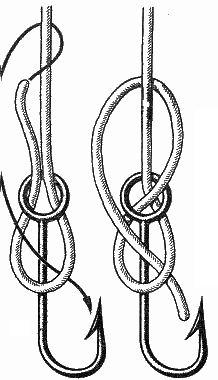 морские узлы - рыбацкая восьмерка