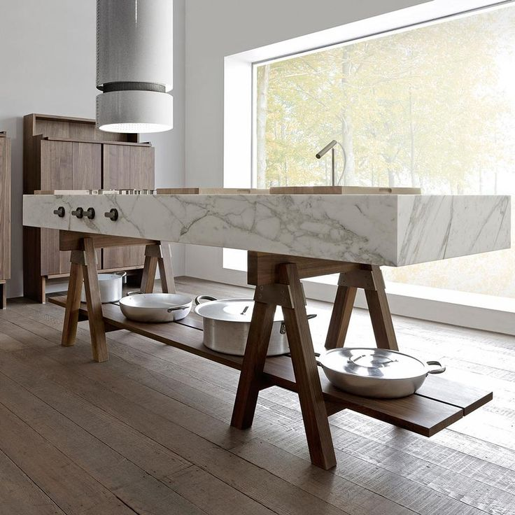 free standing kitchen counter | designed by enzo berti