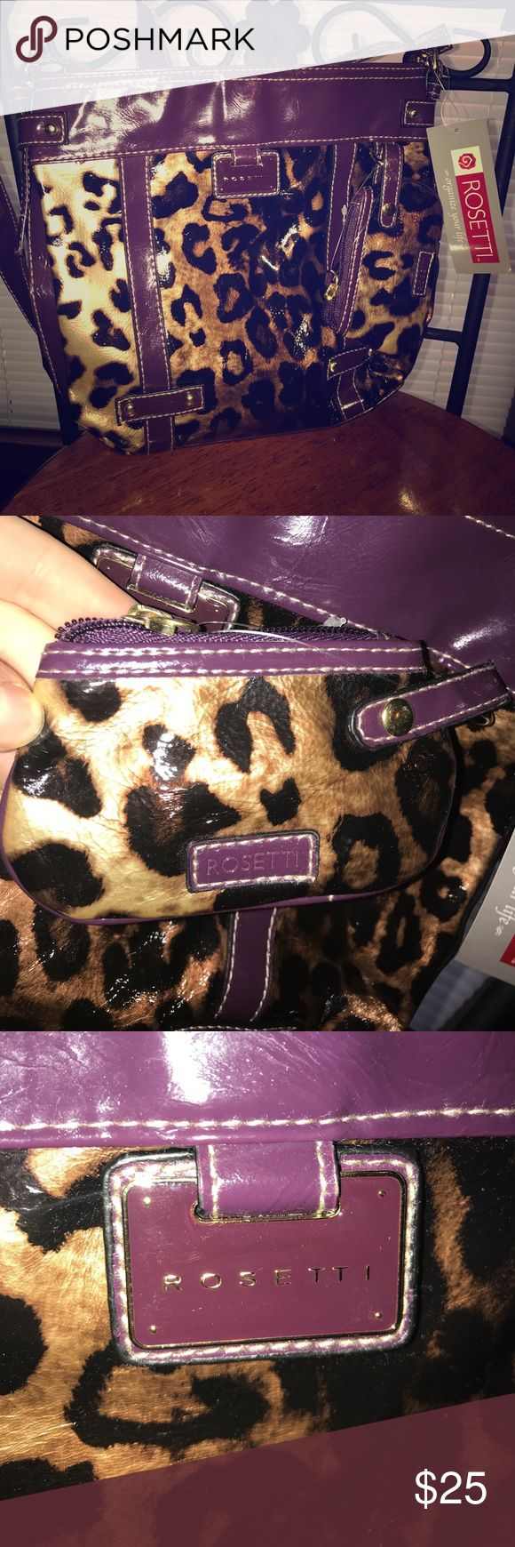 Rosetti cheetah print handbag . New with tags New with tags. Rosetti Cheetah print over the shoulder purse Fratelli Rossetti Bags Shoulder Bags