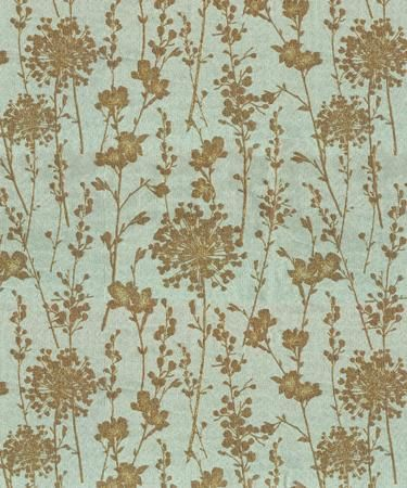 fabric: Idea, Color, Gold Silhouette, Flowers Fabrics, Flowers And Or Add, Sharpie Markers, Fabrics Design, Fabrics Stores, Gold Flowers