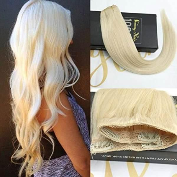 Best 25 balayage extensions ideas on pinterest warm blonde hair 34 full head one piece clip in hair extensions white blonde 60 pmusecretfo Image collections
