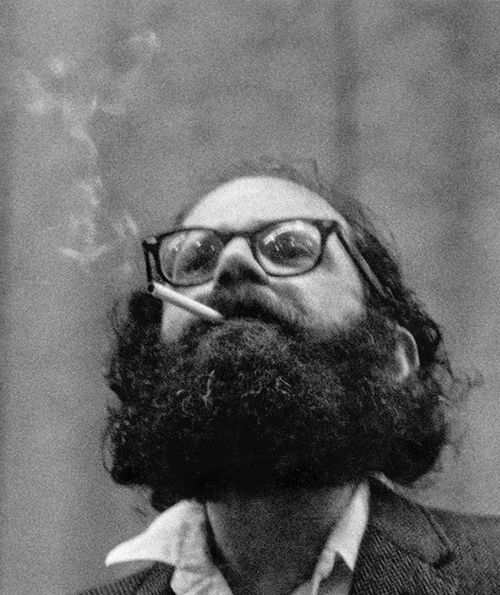 Charlie Steiner     Allen Ginsberg At a Benefit for the Timothy Leary Defense Fund, New York City     1966