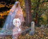 paranormal and psychic happenings: REAL GHOST PHOTO CEMETARY