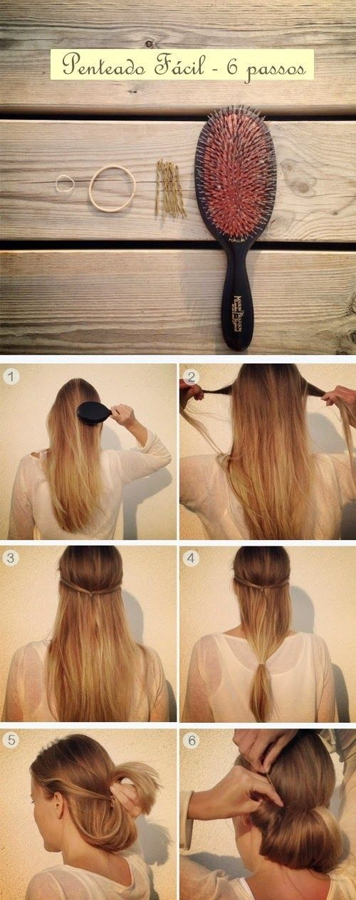 How to Create an Easy Updo in Under a Minute