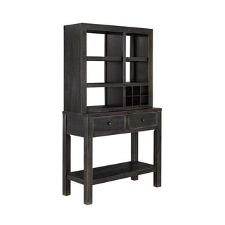 Shop for Signature Design by Ashley Gavelston Black Hutch. Get free delivery at Overstock.com - Your Online Furniture Shop! Get 5�0in rewards with Club O!