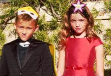 Дочь Милы Йовович и сыновья Патрика Демпси снялись для Vogue Italia