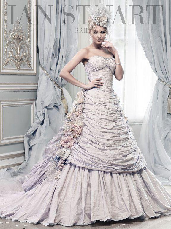 Elegant Lady Luke Collections Of Ian Stuart Bridal Dresses Be Modish Preloved Wedding Dresses Bridal Dresses Lilac Wedding Dresses