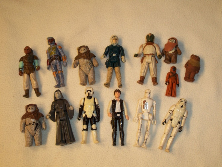 Star Wars figures - My Brother had THOUSANDS of these