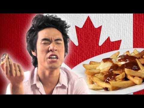 Americans Try Canadian Snacks For First Time...i love how they complain that the foods processed...have they seen american food labels?!