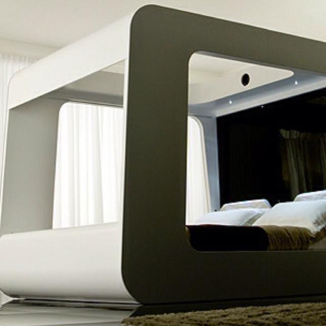 Funky bed frame