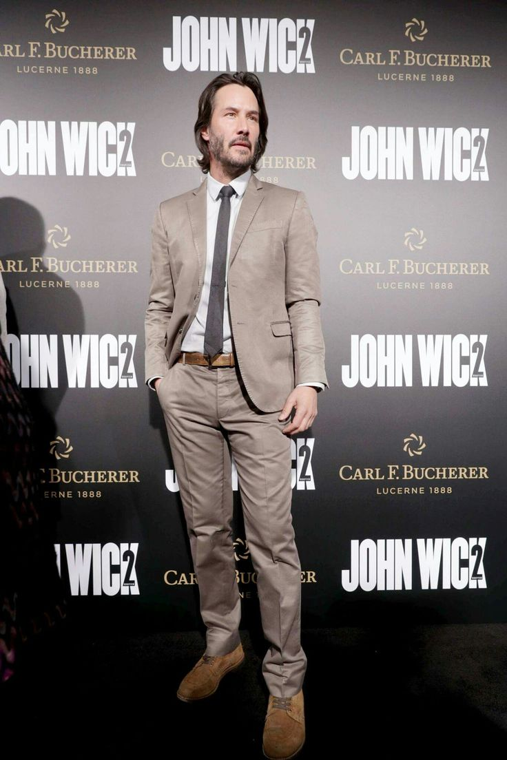Keanu is everyone keanu reeves pictures - Keanu Reeves John Wick Chapter Premiere In Los Angeles On January 30