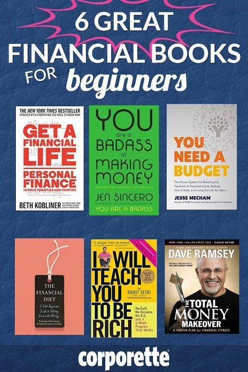 The Best Financial Books For Beginners Corporette Com Personal Finance Books Money Book Finance Books