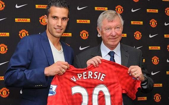 Robin van Persie - Arsenal to Manchester United - 2012 - 24 million pound