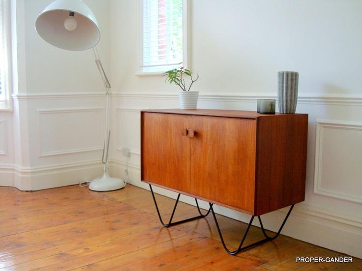 GORGEOUS IB Kofod Larsen G Plan Small Teak Retro Sideboard Eames Heals