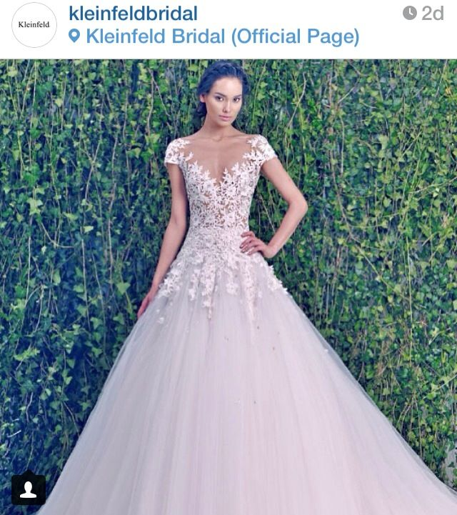 Kleinfeld dress