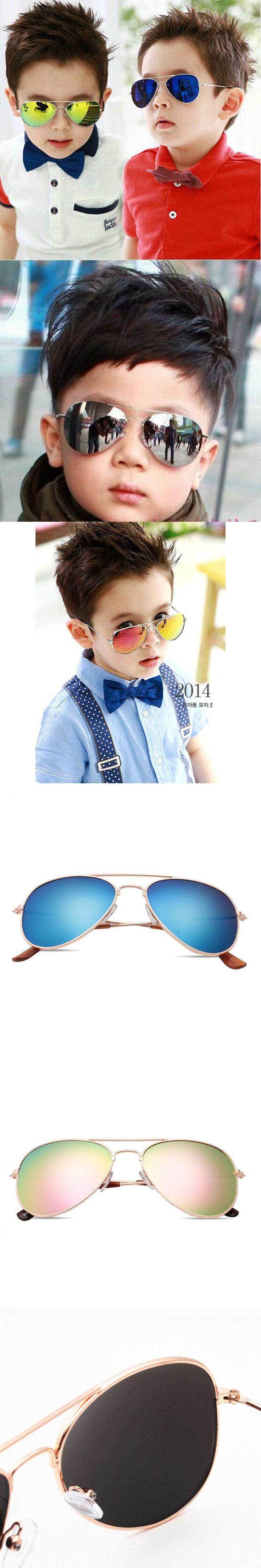 IVE Fashion Baby Boys Kids Sunglasses Piolt Style Brand Design Children Sun Glasses 100%UV Protection Oculos De Sol Gafas 3026