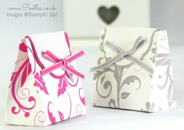 Wedding Favour Box Tutorial Using Stampin' Up! Supplies