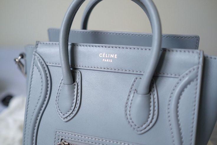 celine totes - celine nano luggage light blue