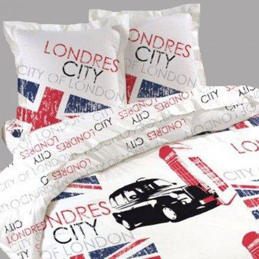 22 best images about housses de couette london on pinterest. Black Bedroom Furniture Sets. Home Design Ideas