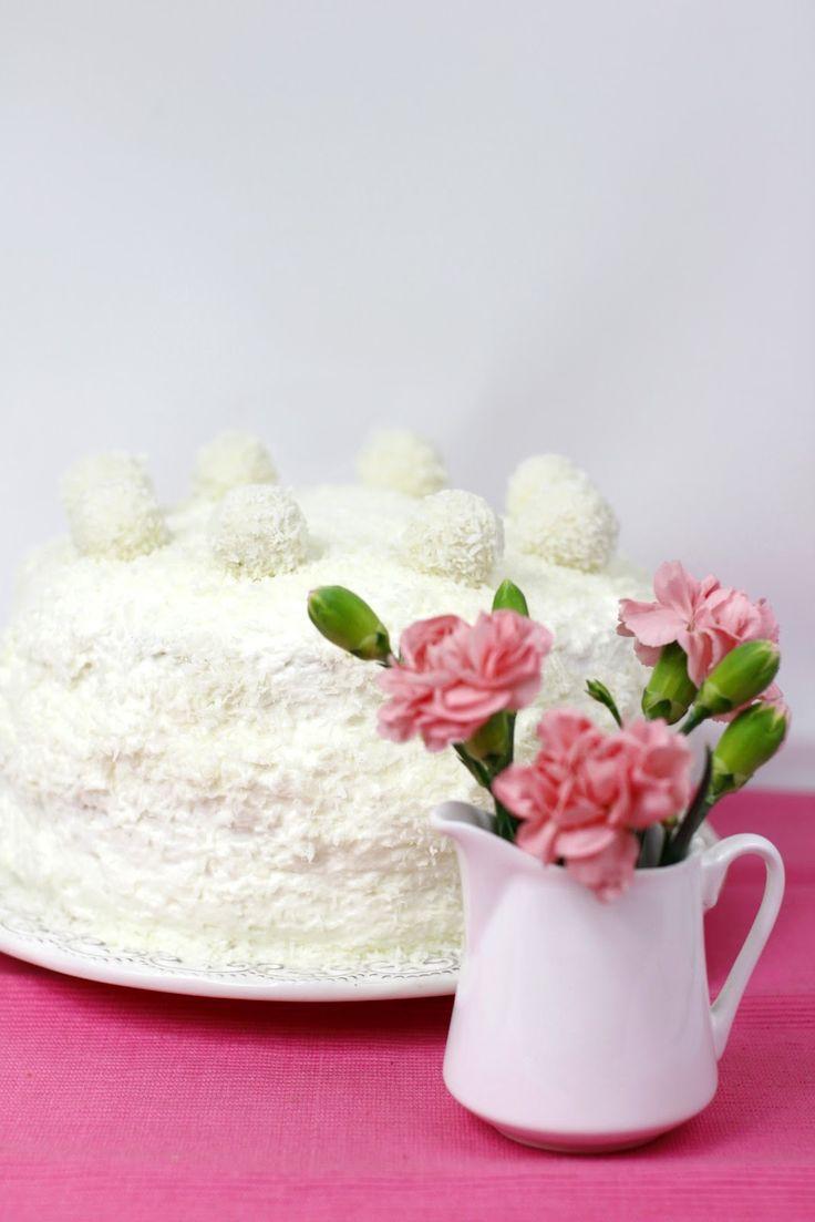 Lekki Tort Ananasowo-Kokosowy Just My Delicious