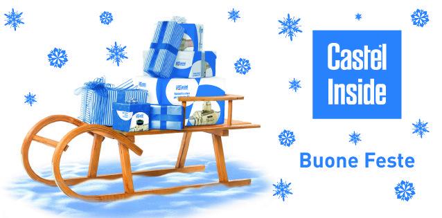 Slitta, doni di Natale, Natale 2014, Castel, refrigerazione, Castel inside, Bune Feste