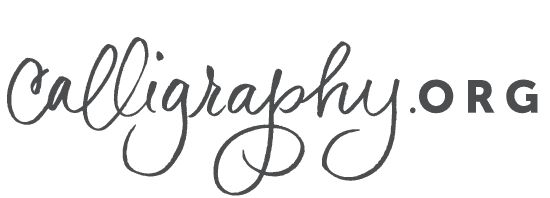 Learn Modern Calligraphy Online | Calligraphy.org...hmm I might actually try this?