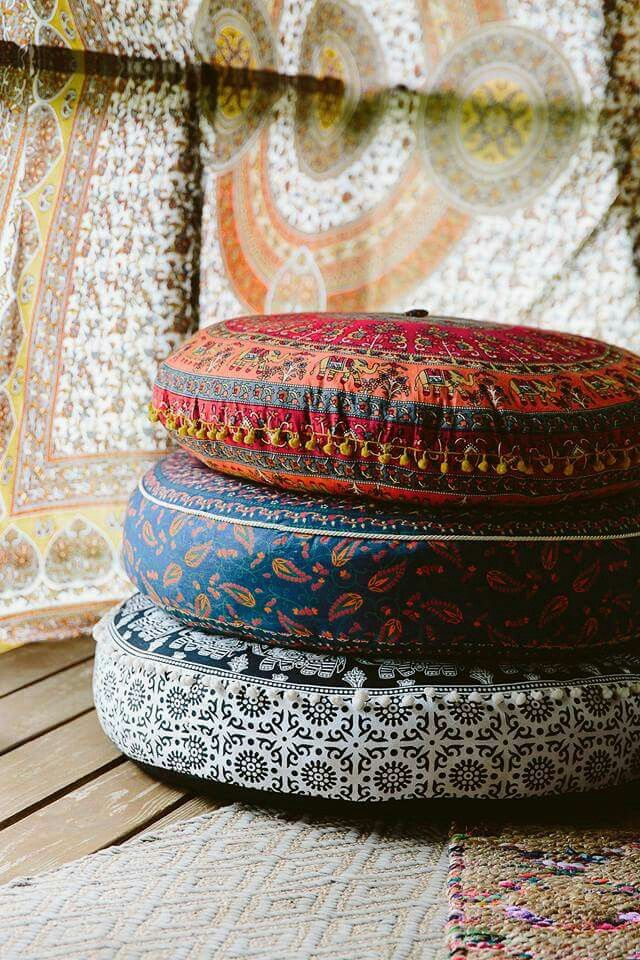 Outdoor Moroccan Floor Pillows : Earthbound Trading Company My Inner Hippy Pinterest Picnics, Floor cushions and Big couch