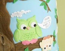'Owl Wedding Cake' (Ollie!)