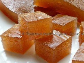 Мармелад яблочный пластовой. Рецепт с фото. Пошаговые фотографии. Gurmel