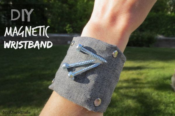 Magnetisches Armband | 41 selbstgebastelte Geschenke, die Du am Liebsten behalten willst
