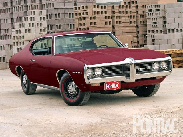 1969 Pontiac Lemans Mine was a 1968 red and white loved it