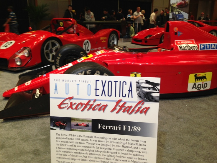 Come check out the Exotica Italia here at the #CIAS13