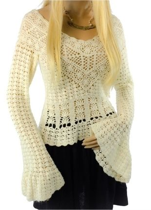 358 Best Tops Images On Pinterest Crochet Tops Crochet Clothes